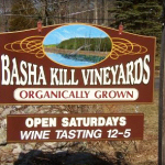Basha Kill Vineyards Sign