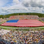 michie stadium American Flag