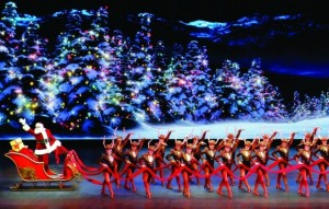 Luxury Motor Coach transportation. Tickets to December 9th Radio City Christmas Spectacular